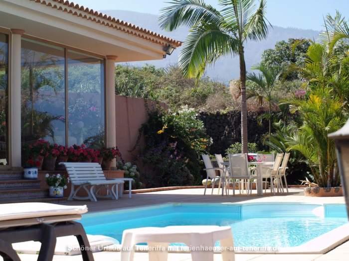 Ferienhaus mit Privatpool und toller Aussicht im Orotavatal