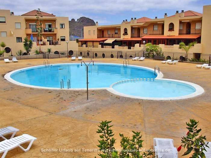 Ferienhaus Teneriffa Mit Pool , Ferienwohnung Mit Pool Kinderpool Spielplatz Und Terrassen In Adeje