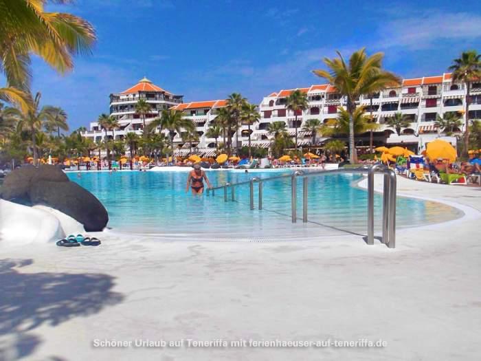 Ferienhaus Teneriffa Mit Pool , Ferienwohnung Im Parque Santiago Iv Mit Gemeinschaftspools Am Strand