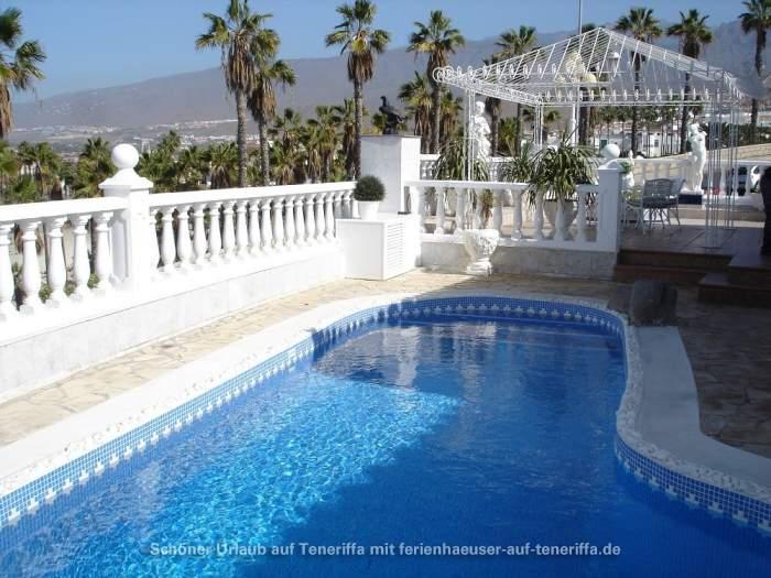 Luxus villa mit whirlpool sz privatpool und pavillon in adeje - Whirlpool pavillon ...