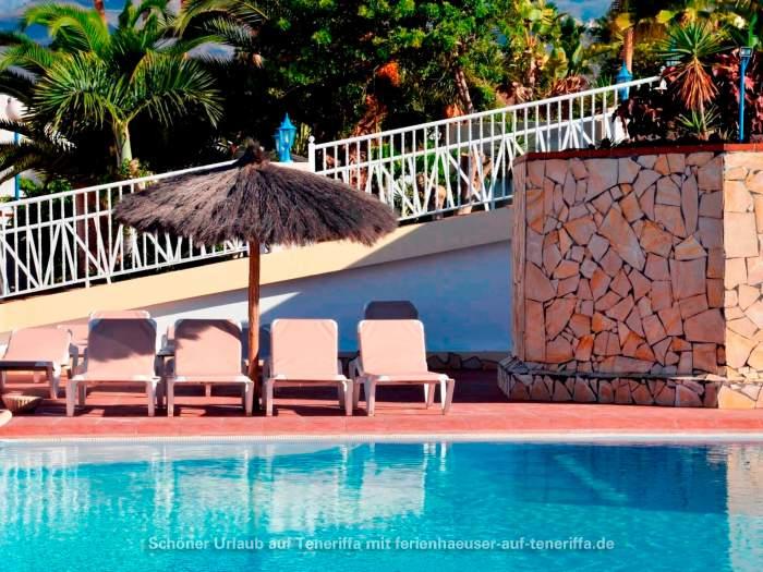ferienwohnung in bungalow mit pool und gartenanlagen in san miguel. Black Bedroom Furniture Sets. Home Design Ideas