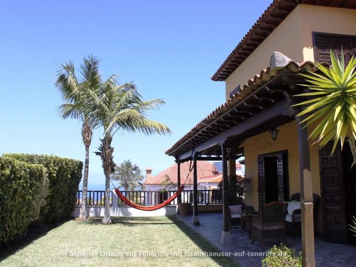 Großes Ferienhaus mit Kamin, Terrasse und Garten in La Orotava