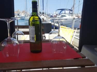 Urlaub auf einem Boot