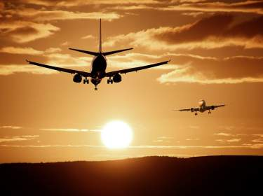 Flughafenbetrieb Starten und Landen
