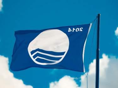 Blaue Flagge Teneriffa