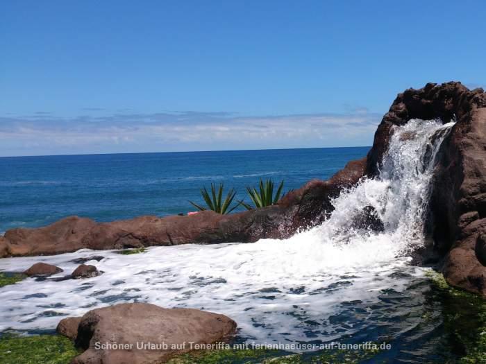 Wasserfall Playa Jardín Puerto de la Cruz