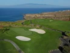 Golf Costa Adeje Blick nach La Gomera