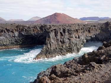 Lanzarote Steilküste