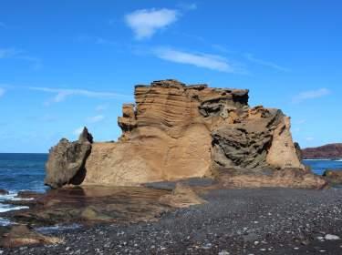 Lanzarote Felsen Küste