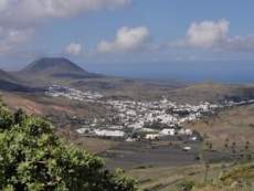 Haría Lanzarote Aussicht