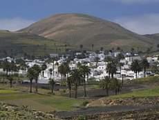 Blick auf Haría Lanzarote