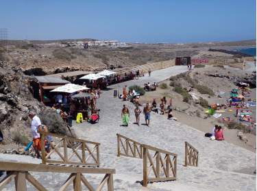 El Médano Playa Tejita Strandbar