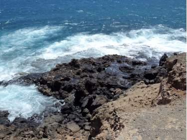 El Médano Küste Lava