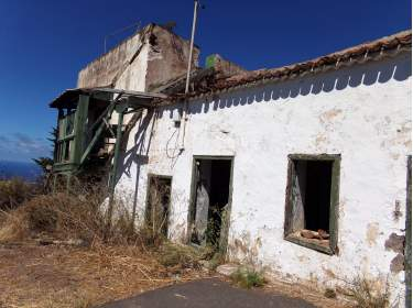 El Sauzal altes Haus