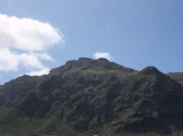 Buenavista del Norte Blick auf das Tenogebirge